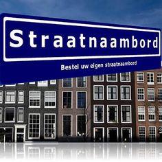 Persoonlijk Straatnaambord - 37 cm