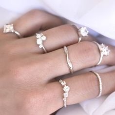 designer Diamond Rings obsession / made by 27JEWELRY
