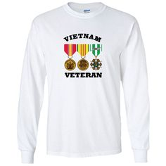 Silver Shore Surfing Co Blue And Silver Vietnam Veterans, Graphic Sweatshirt, T Shirt, Printed Shirts, Long Sleeve Shirts, Sweatshirts, Casual, Sleeves, Mens Tops