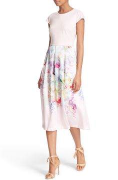 Ted Baker London 'Sibylla' Floral Print Dress