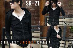 Jual Jaket Korea Pria Ready Stock 27