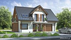 Tree Of Life Artwork, Roof Lines, Metal Roof, Simple House, Malm, Home Fashion, Country Living, House Plans, Shed