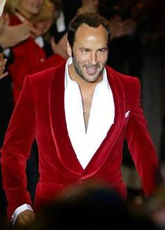 ... fashion designer Tom Ford.