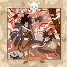 Pirates of the Caribbean - Dead Men Tell No Tales on Behance