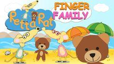 Finger Family Retta Rat Nursery Rhyme / Retta Rat in Holiday Finger Fami...