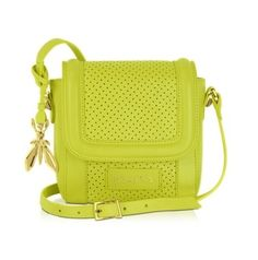 Patrizia Pepe Perforated Leather Shoulder Bag http://www.zoanne.com/bags/Patrizia-Pepe-Perforated-Leather-Shoulder-Bag $357