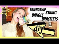 ▶ DIY Bangle Bracelets | DIY Friendship Bracelets | Meet the new Family member | jrzgirlz - YouTube