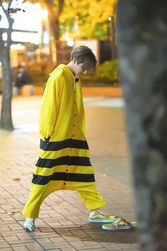 Monsta x Yellow Things yellow glasses