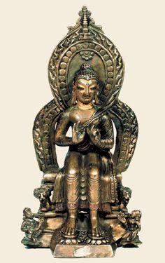 7th-8th-c-kashmir-maitreya-brass-263-cm-karkota-gtsug-lakhang.jpg (566×900)