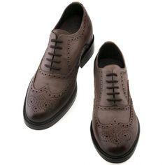 """Scarpe con rialzo collezione """"inverno 2014"""".  Modello Houston - € 445  http://www.guidomaggi.it/collezione-lusso/scarpe-classiche-stringate"""