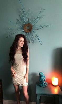 Items similar to Boho Irovy Lace Mini Dress on Etsy Bohemian Style, Boho Chic, Bohemian Clothing, Vintage Inspired Outfits, Boho Fashion, Womens Fashion, Festival Outfits, Trending Outfits, Mini