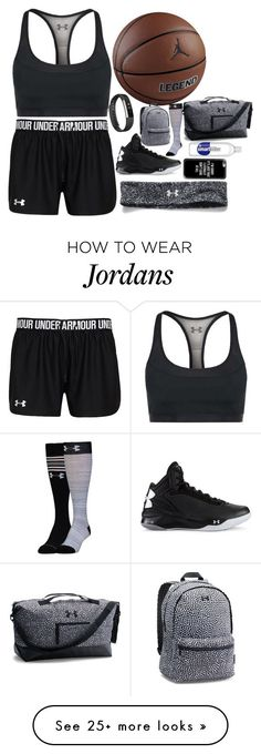 """Training Because I Can"" by jadeandsonic on Polyvore featuring NIKE, Under Armour, Fitbit, Casetify and basketball"