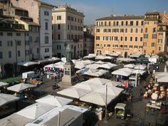 Campo de Fiori: home of the UW Rome Center. This is where I'll be most of the summer