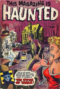 HORROR ILLUSTRATED: PRE CODE HORROR COMICS COVERS