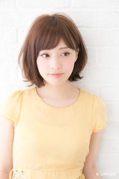 GARDENが提案する最新ヘアカタログ Asian Short Hair, Girl Short Hair, Short Hairstyles For Women, Girl Hairstyles, Short Hair Cuts For Women, Short Hair Styles, Japanese Hairstyle, Salon Style, Japanese Beauty