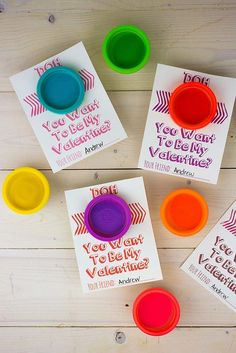 Play-Doh Valentine's Day Cards
