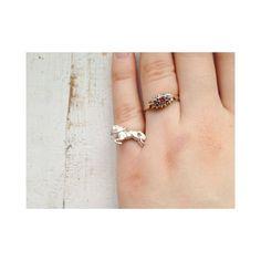 Silver Tiny Pony Pinky Ring by BijouxTwentyTwo on Etsy, £30.00