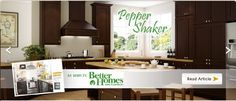As Seen In Better Homes And Gardens Pepper Shaker Cabinet Door Styles Doors