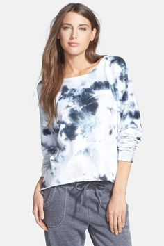 Marc New York by Andrew Marc | Marc New York by Andrew Marc Tie Dye High/Low French Terry Sweatshirt | Nordstrom Rack