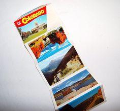 Colorado Vintage Postcards by CheekyVintageCloset on Etsy, $8.00