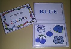 Make a flip book for your preschooler to learn colors!