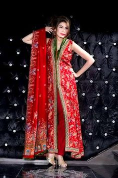 Latest Five Star Winter Party Lawn Dresses for Girls