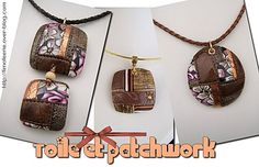 Patchwork photo tutorial in French but pictures are quite clear-clay that looks like other material