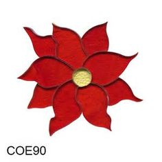 time creating fused glass art with our convenient precut poinsettia ...