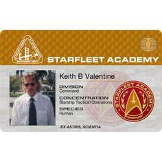 Starfleet Academy Student - Command Id Card