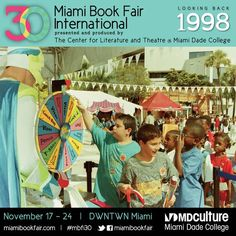 Children's Alley at Miami Book Fair International, 1998 #bookfair #childrensbooks