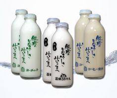 特選函館牛乳 牛乳&珈琲牛乳&飲むヨーグルト