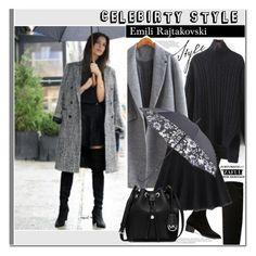 """Celebirty Style: Emily Rajtakovski"" by vanjazivadinovic ❤ liked on Polyvore featuring MICHAEL Michael Kors, Fulton, CelebrityStyle, polyvoreeditorial, zaful and emilyrajtakowski"