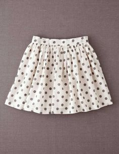 I've+spotted+this+@BodenClothing+Printed+Skirt+Dove/Mid+Grey+Spot