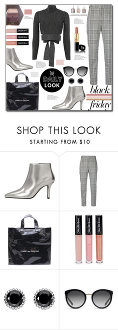 """""""Steal Those Deals: Black Friday"""" by ventevent ❤ liked on Polyvore featuring MANGO, Alexander Wang, Comme des Garçons, Saks Fifth Avenue, Thomas Sabo, Dolce&Gabbana, Burt's Bees, Cushnie Et Ochs, booties and trousers"""