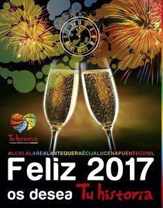 Os deseamos que paséis una inolvidable nochevieja, una estupenda entrada de año y un #feliz2017