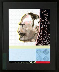 Acrylic on Paper 40 x 30 cm (unframed) Vienna Austria, Mixed Media, Polaroid Film, Paper, Illustration, Art, Craft Art, Illustrations, Kunst
