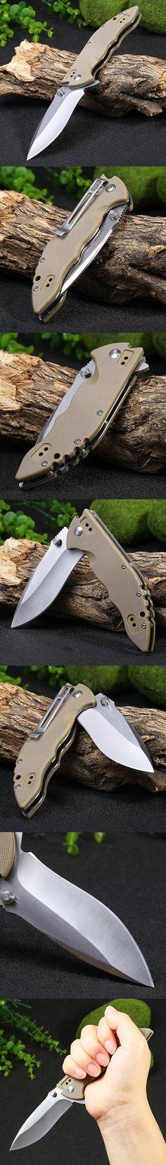 Pocket Knives and Folding Knives | Sanrenmu 9054 SUC-GV 58HRC Folding Knife