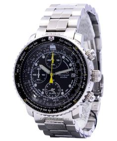 Seiko Pilot's Flight Alarm Chronograph Men's Watch - Men's style, accessories, mens fashion trends 2020 Seiko Snk809, Sport Watches, Cool Watches, Watches For Men, Citizen Watches, Cheap Watches, Seiko Vintage, Vintage Watches, Elegant Watches