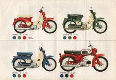 Honda C50~We had one of these growing up. Loads of fun!!