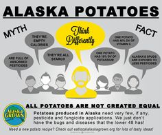 How do you think about #AlaskaGrown potatoes?