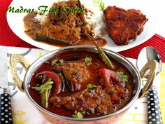 Madras fish curry Spicy Recipes, Curry Recipes, Seafood Recipes, Cooking Recipes, Chicken Karahi, Chicken Curry, Indian Fish Recipes, Green Chilli Sauce, Curry Spices