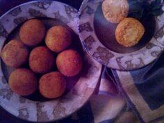 Peynirli Kızarmış Pirinç Topları