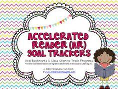 FREE Accelerated Reader Goal Trackers - 3rdGrThoughts - TeachersPayTeachers.com