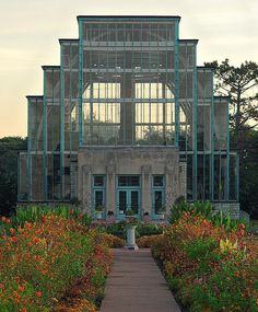 The Jewel Box, in Forest Park, Saint Louis, Missouri, USA by msabeln, via Flickr