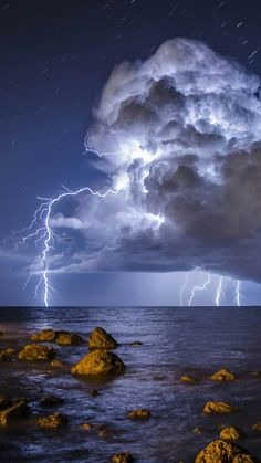 Storm lights.