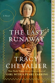 """Read """"The Last Runaway A Novel"""" by Tracy Chevalier available from Rakuten Kobo. New York Times bestselling author of Girl With a Pearl Earring and At the Edge of the Orchard Tracy Chevalier makes her . Good Books, Books To Read, My Books, Library Books, Library Corner, Dream Library, Amazing Books, Library Card, Penguin Books"""