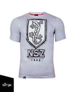 Koszulka patriotyczna Narodowe Siły Zbrojne dziecięca. Surge Polonia