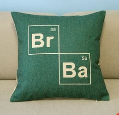 Breaking Bad Cushion Cover by QuirkyHomeUK on Etsy