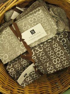 Grey Kitchen Hand Towels    www.sophiesshoppe.com