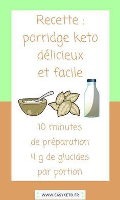 Aujourd'hui, testez le porridge keto vegan pour votre petit-déjeuner., #recettecetogene#veganketo INGRÉDIENTS : 15 g d'amandes concassées. 15 g de graines de chanvre. 1 cuillère à soupe de xylitol (si besoin). 100 ml de lait d'amande non sucré. 15 g de graines de l